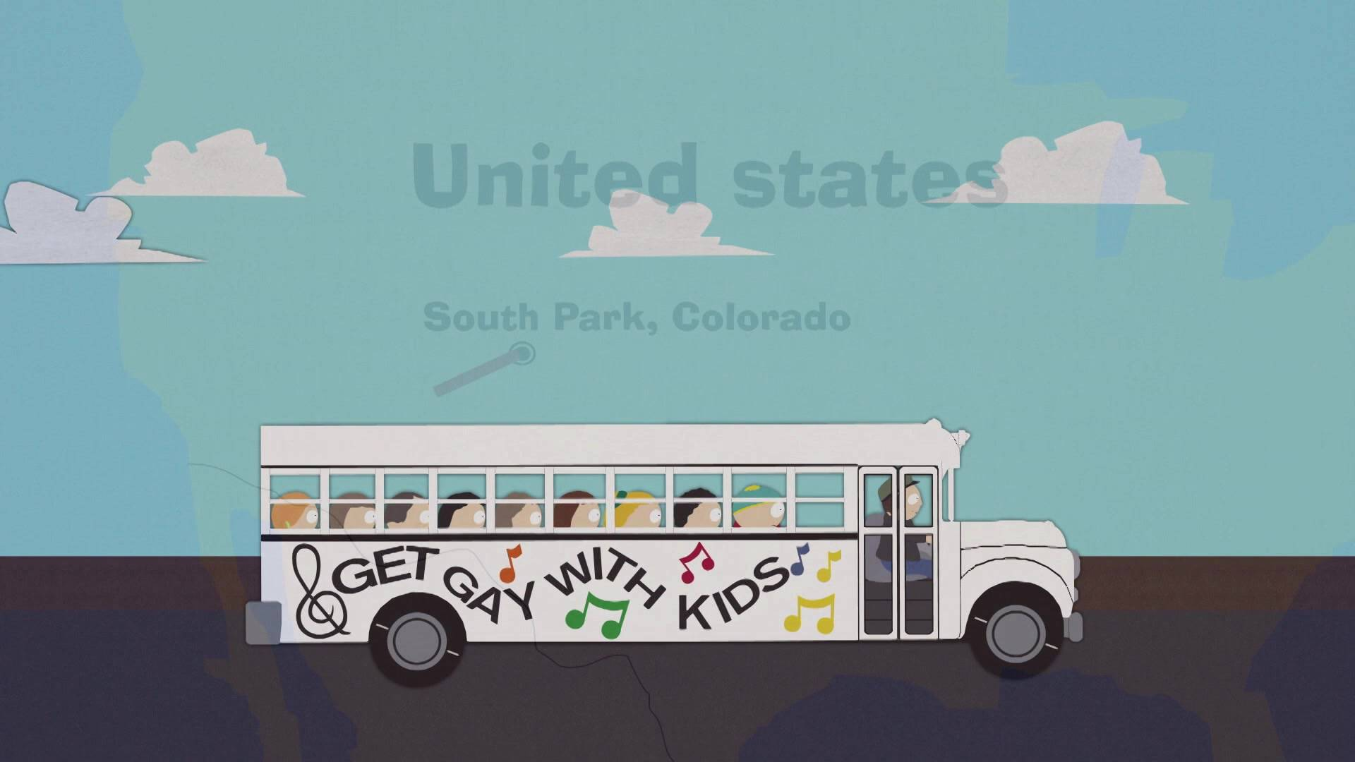 гифка автобус едет по земле картинки