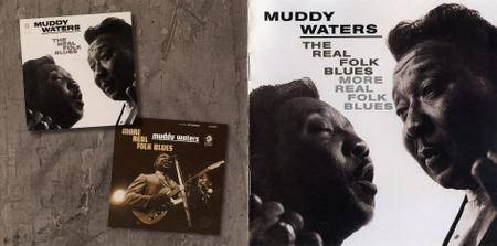 Muddy Waters - 'The Real Folk Blues' (1966) + 'More Real Folk Blues' (1967) 2 LP in 1 CD, Remastered 2002 [Re-Up]
