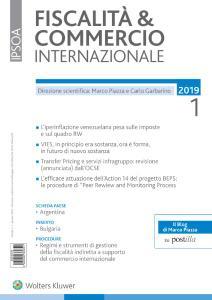 Fiscalità & Commercio Internazionale - Gennaio 2019