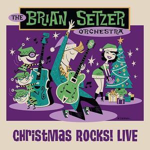 The Brian Setzer Orchestra - Christmas Rocks (2018) [Blu-ray, 1080i + DVD-9]
