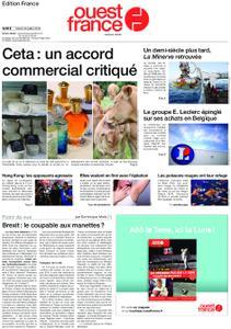 Ouest-France Édition France – 23 juillet 2019
