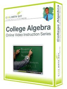 Cool Math Guy - College Algebra