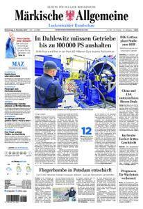Märkische Allgemeine Luckenwalder Rundschau - 09. November 2017
