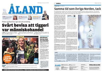 Ålandstidningen – 27 januari 2020