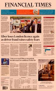 Financial Times UK – 26 November 2019