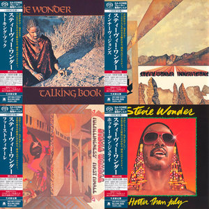 Stevie Wonder - Japanese SHM-SACD Collection (4x SACD, 1972-1980) [PS3 ISO + Hi-Res FLAC] Combined RE-UP
