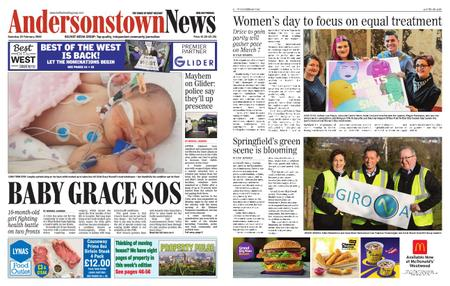 Andersonstown News – February 22, 2020