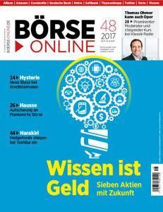 Börse Online - 30. November 2017