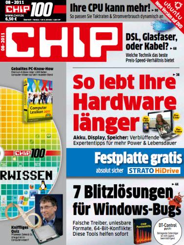 CHIP Magazin No 08 2011