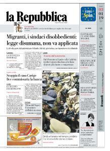 la Repubblica - 3 Gennaio 2019