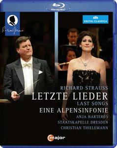 Christian Thielemann, Staatskapelle Dresden, Anja Harteros - Strauss: Vier letzte Lieder & Eine Alpensinfonie (2014) [Blu-Ray]