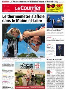 Le Courrier de l'Ouest Cholet – 29 juin 2019