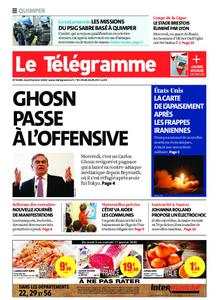 Le Télégramme Quimper – 09 janvier 2020