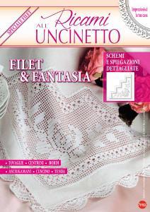 Ricami all'Uncinetto N.12 - Agosto-Settembre 2017