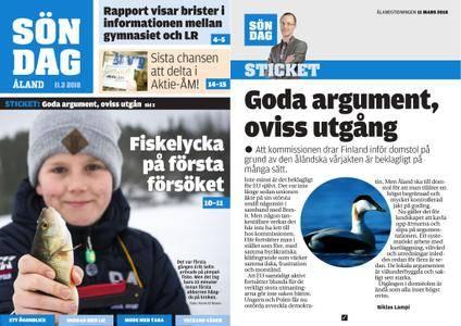 Ålandstidningen – 11 mars 2018