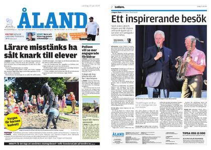 Ålandstidningen – 27 juli 2019