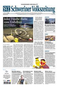 Schweriner Volkszeitung Hagenower Kreisblatt - 09. November 2019
