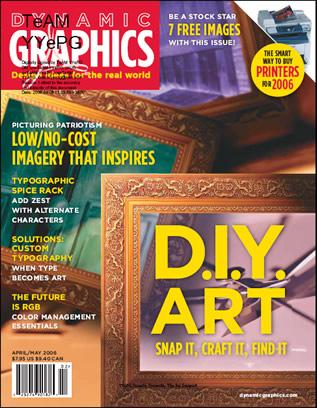 Dynamic Graphics Magazine (April-May 2006)