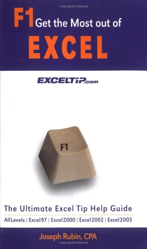 F1 Get the Most out of Excel!