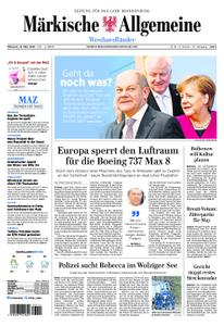 Märkische Allgemeine Westhavelländer - 13. März 2019