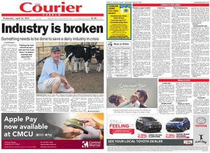 The Cobram Courier – April 24, 2019