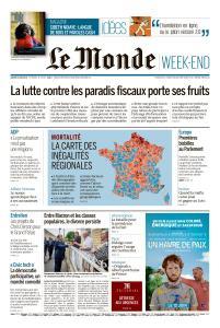 Le Monde du Samedi 8 Juin 2019