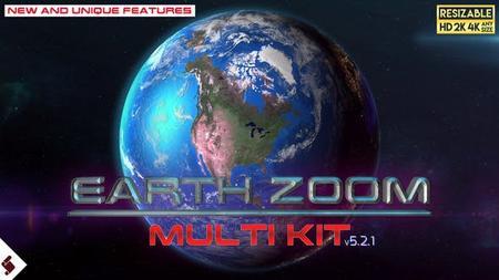 Earth Zoom Multi Kit Preset Tool (VideoHive) 7962581