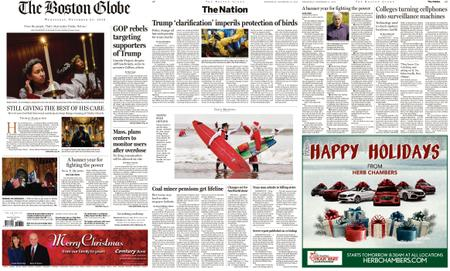 The Boston Globe – December 25, 2019