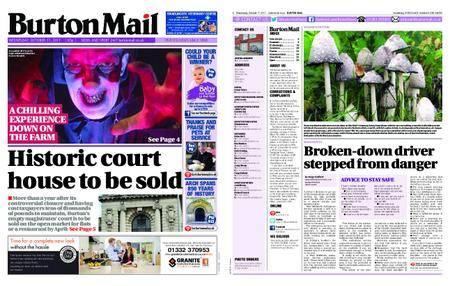 Burton Mail – October 11, 2017
