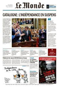 Le Monde du Jeudi 12 Octobre 2017
