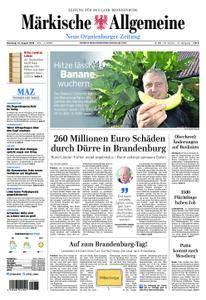 Neue Oranienburger Zeitung - 14. August 2018