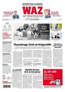 WAZ Westdeutsche Allgemeine Zeitung Oberhausen-Sterkrade - 09. Juni 2018