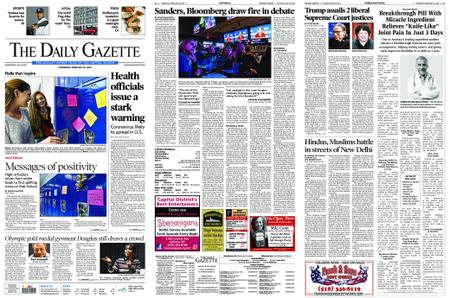 The Daily Gazette – February 26, 2020