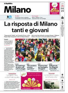 la Repubblica Milano – 26 aprile 2019
