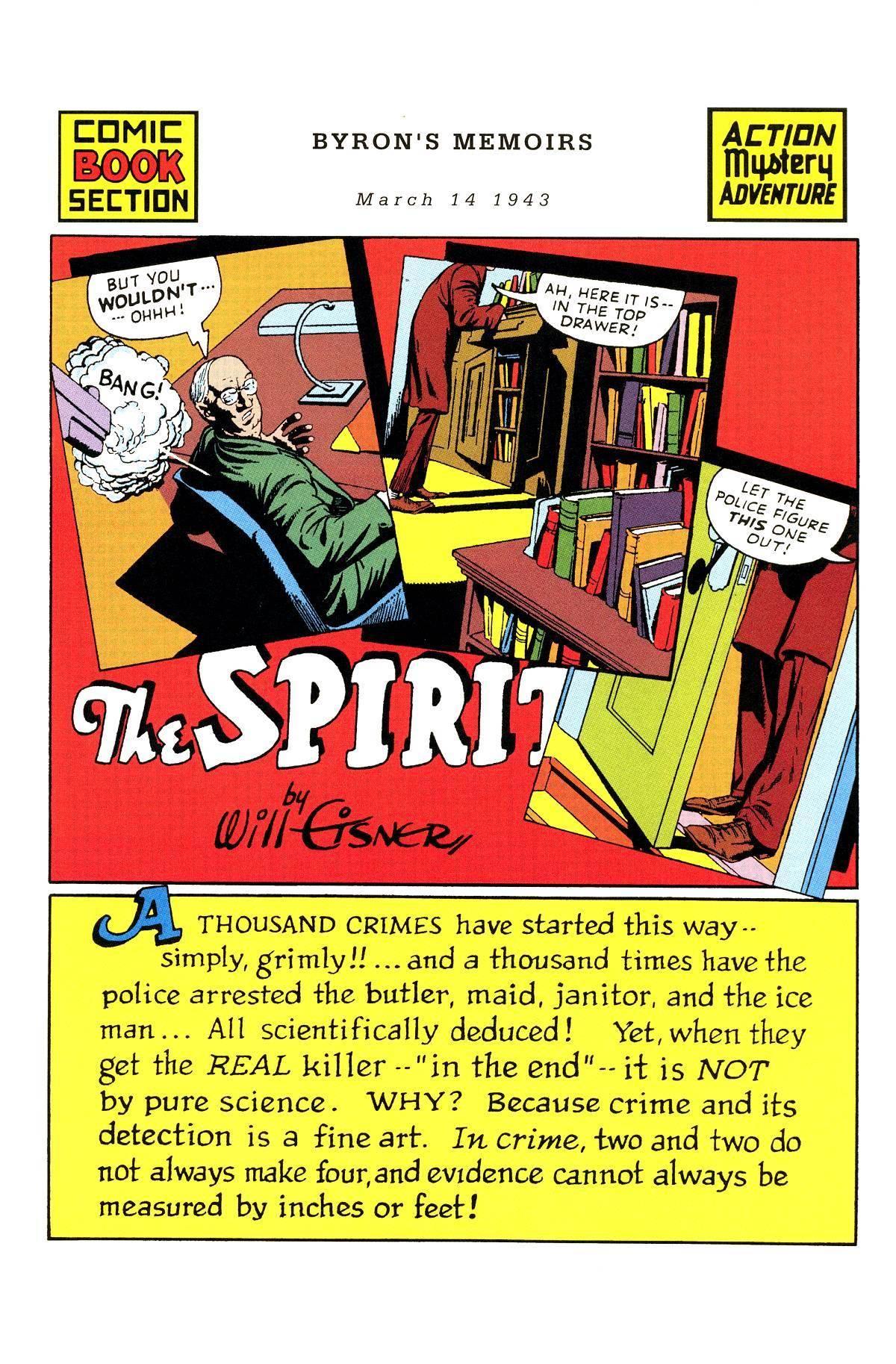 The Spirit 01 [493 of 666] Spirit Section 146