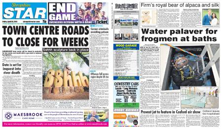 Shropshire Star Shrewsbury Edition – April 26, 2019