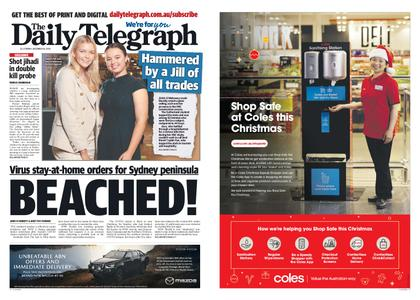 The Daily Telegraph (Sydney) – December 18, 2020