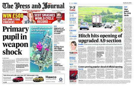 The Press and Journal Moray – September 19, 2017