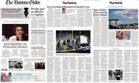 The Boston Globe – August 16, 2018