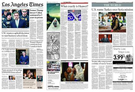 Los Angeles Times – December 13, 2018