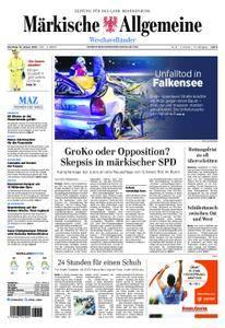 Märkische Allgemeine Westhavelländer - 16. Januar 2018