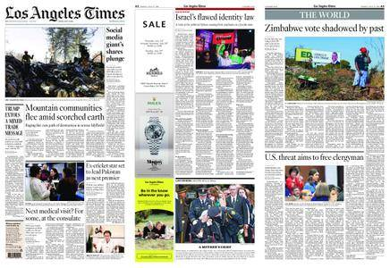 Los Angeles Times – July 27, 2018