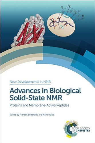 Advances in Biological Solid-State NMR: Proteins and Membrane-Active Peptides