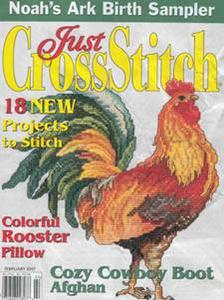 Just Cross Stitch Magazine February 2007