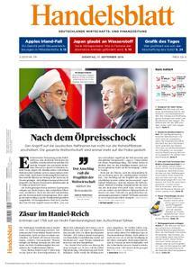 Handelsblatt - 17. September 2019