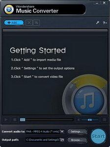 Wondershare Music Converter 1.2.1.0 Portable