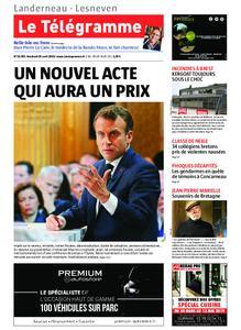 Le Télégramme Landerneau - Lesneven – 26 avril 2019