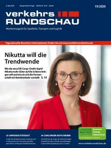 VerkehrsRundschau - 05. Mai 2020