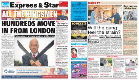 Express and Star City Edition – September 22, 2017