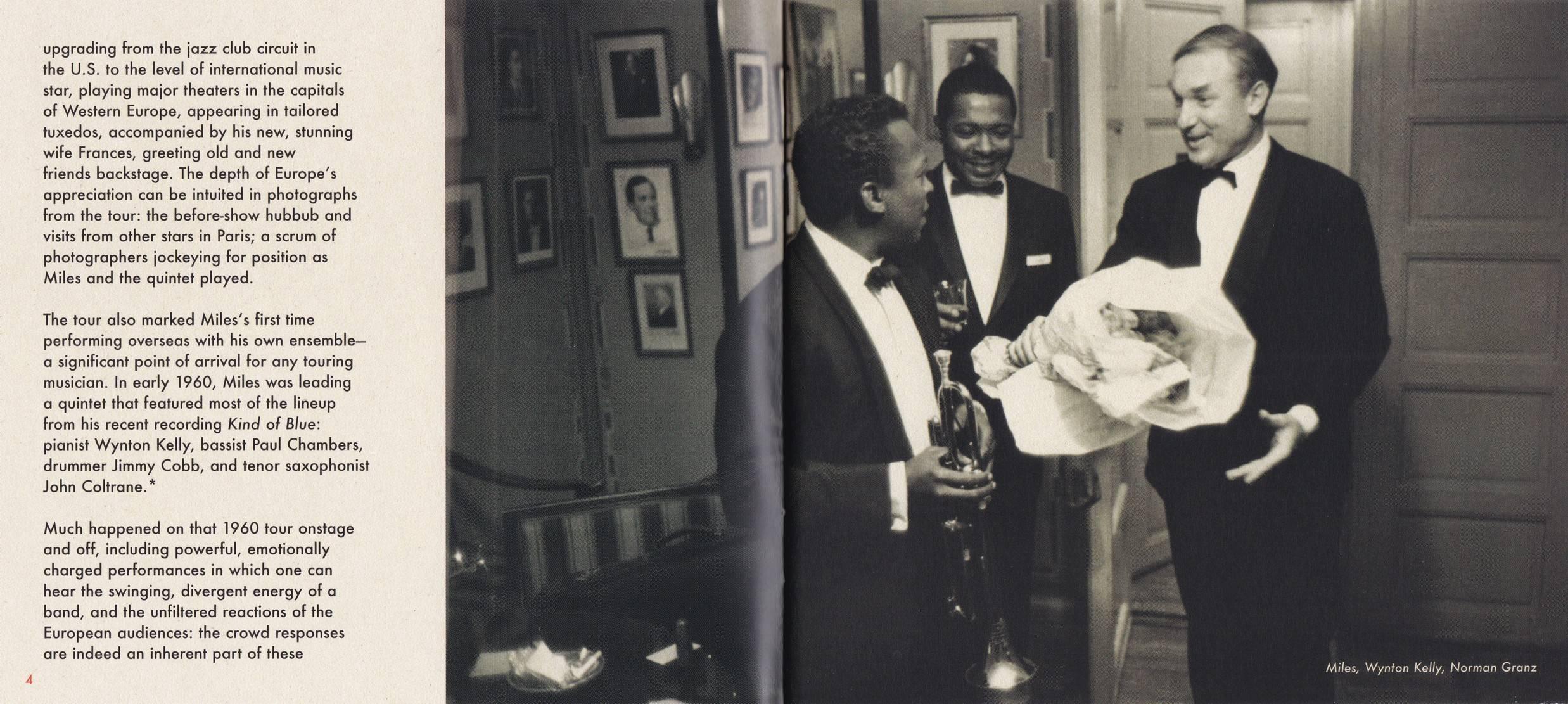 Miles Davis & John Coltrane - The Final Tour: The Bootleg Series, Vol. 6 (2018) {4CD Set Columbia 88985448392 rec 1960}